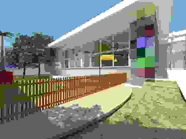 Colégio Estímulo Escolas modernas por DecorArquitetura - Luciana Corrêa e Elaine Delegredo Moderno