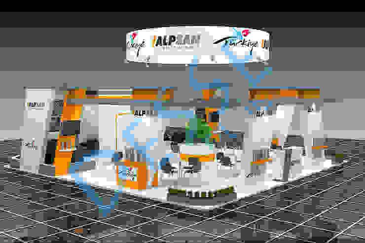 3d Fuar stand ahşap Desse Design Tasarım Uygulama ve Reklam Hizmetleri