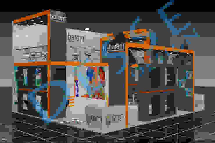 3d ahşap fuar stand Desse Design Tasarım Uygulama ve Reklam Hizmetleri