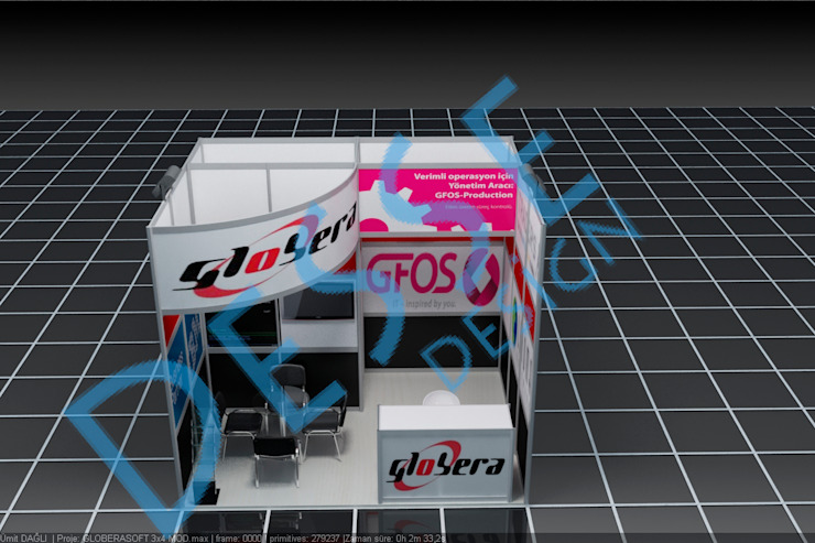 3d modüler fuar stand Desse Design Tasarım Uygulama ve Reklam Hizmetleri