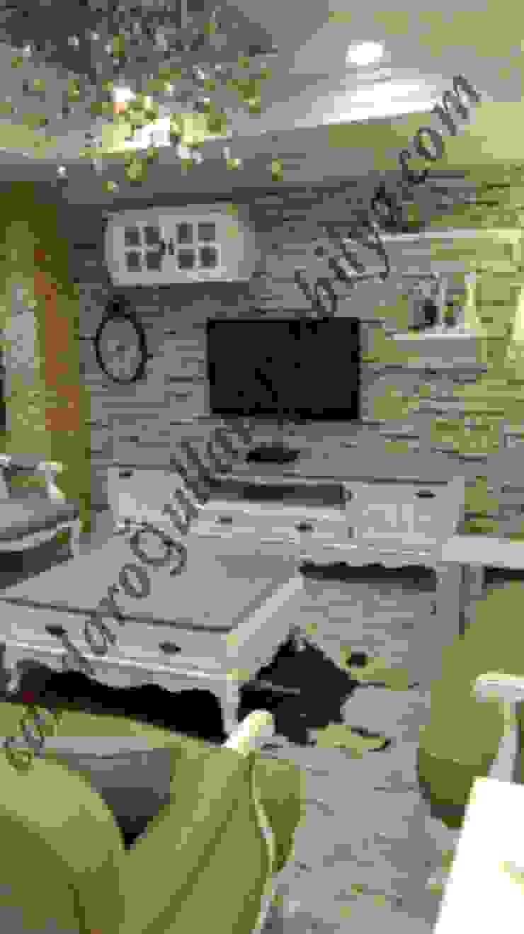 Bahar tv ünitesi Candaroğulları mobilya Kırsal/Country Ahşap Ahşap rengi