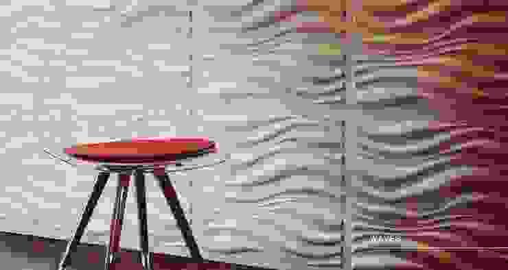 Waves Escuadra Arquitectura C.A Paredes y pisosRevestimientos de paredes y pisos