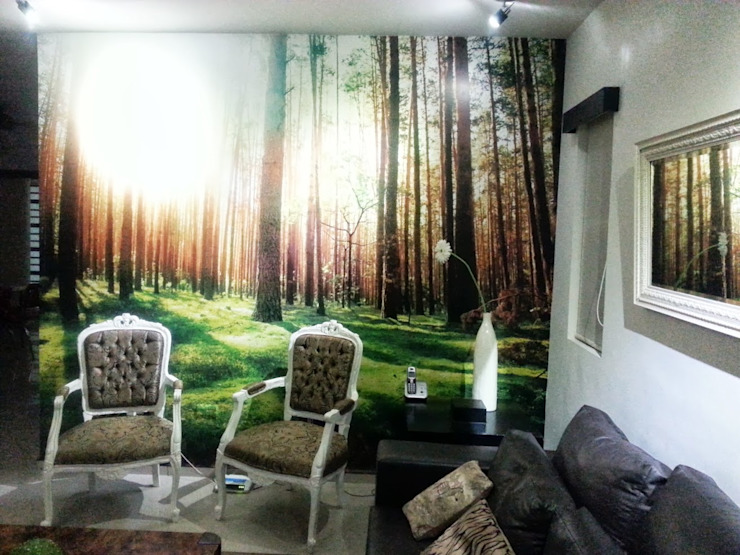Mi Hogar Paredes y pisos de estilo moderno de Liferoom Moderno