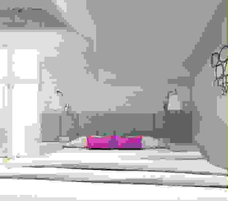 Sypialnia od Architekt wnętrz Klaudia Pniak