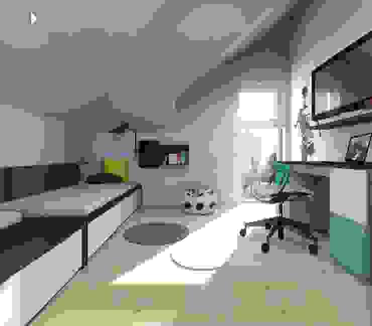 Pokój małego piłkarza od Architekt wnętrz Klaudia Pniak