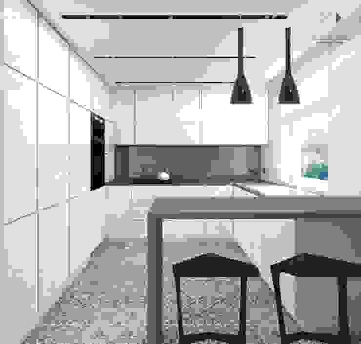 Kuchnia od Architekt wnętrz Klaudia Pniak