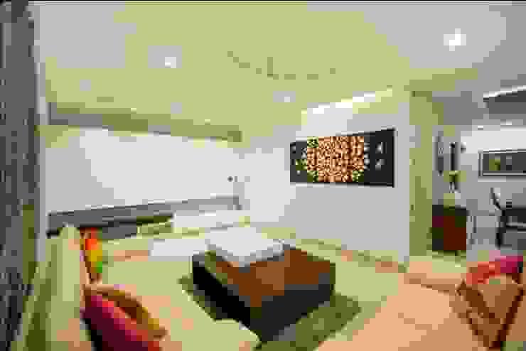 Drawing room Minimalist living room by ARK Architects & Interior Designers Minimalist