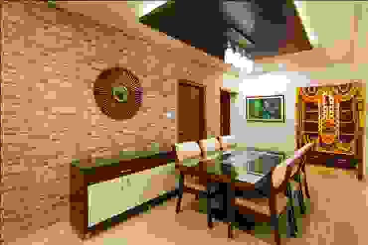 Dinning Area Minimalist dining room by ARK Architects & Interior Designers Minimalist