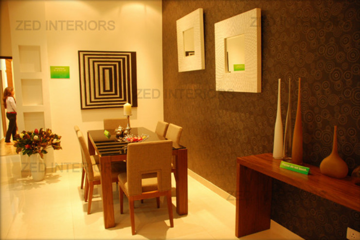 Modern dining room by ZED Associates Pvt. Ltd. Modern