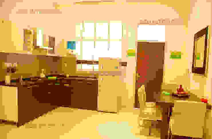 Kitchen designs Modern kitchen by ZED Associates Pvt. Ltd. Modern