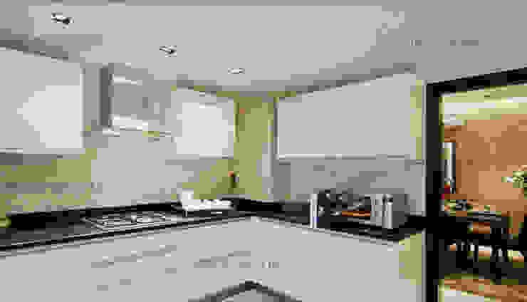 Modern kitchen by ZED Associates Pvt. Ltd. Modern