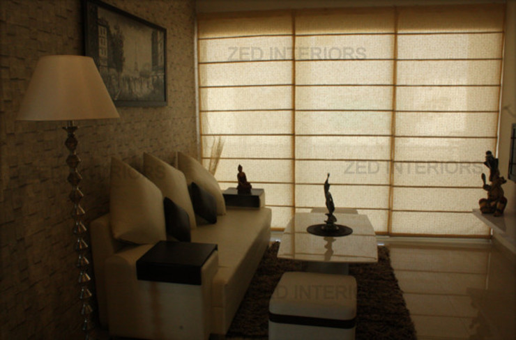 Living Area Designs Modern living room by ZED Associates Pvt. Ltd. Modern