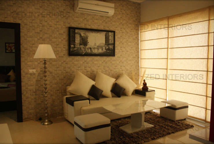 Modern Living Room by ZED Associates Pvt. Ltd. Modern