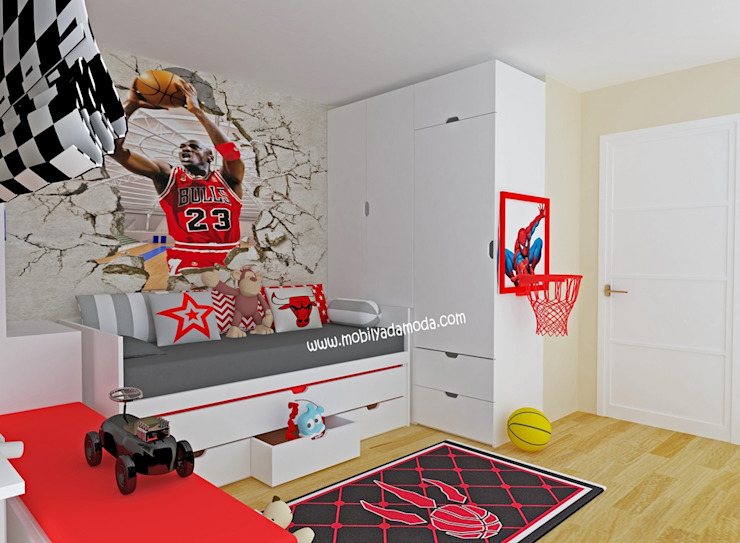 Modern Kid's Room by MOBİLYADA MODA Modern Wood Wood effect