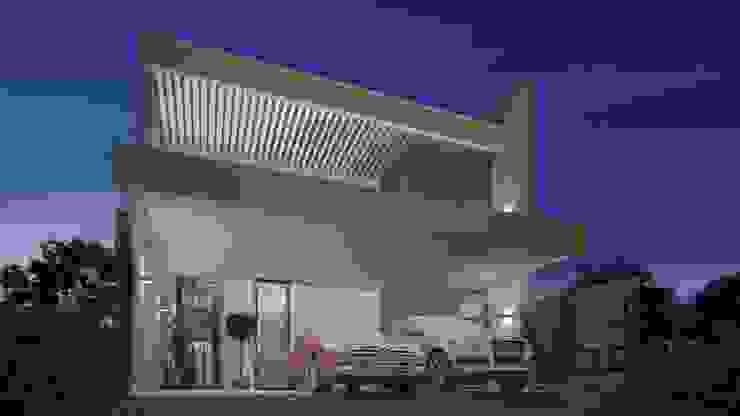 Nhà phong cách chiết trung bởi Sieg Arquitetura e Construção Chiết trung Bê tông