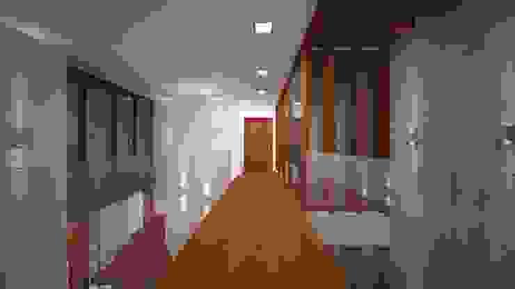 Tường & sàn phong cách chiết trung bởi Sieg Arquitetura e Construção Chiết trung Gỗ Wood effect