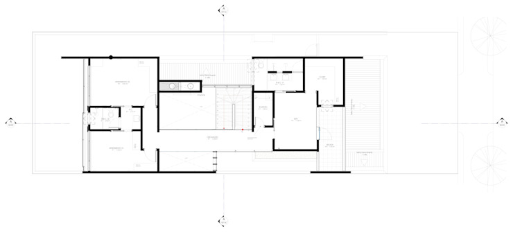 Eclectische huizen van Sieg Arquitetura e Construção Eclectisch