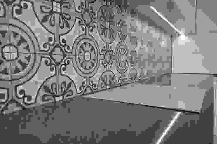Kolory Maroka Dapur Modern Ubin Grey