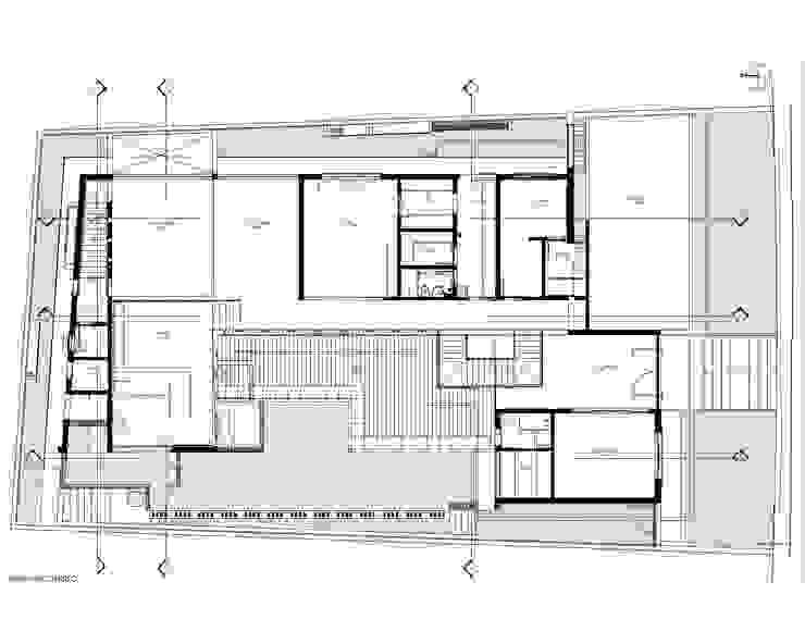 Planta Pavimento Térreo por Sieg Arquitetura e Construção Moderno