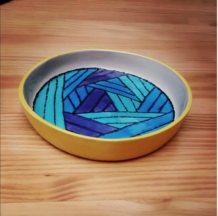 Mini Bowl de ManoLatina Rústico