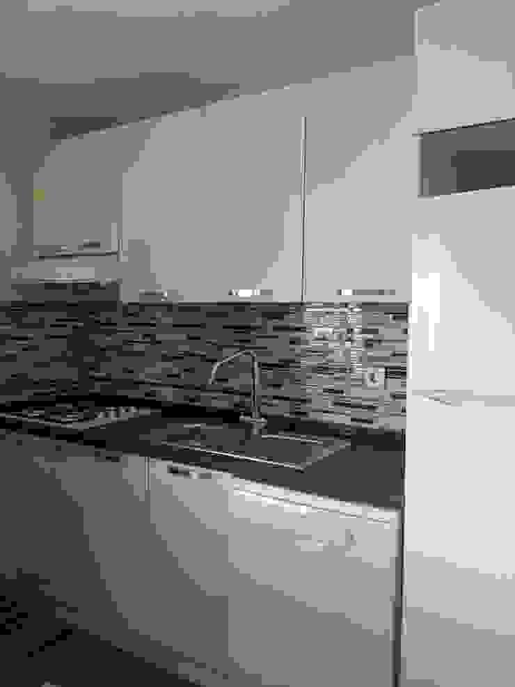 iç mimari tasarım ve uygulama Modern Mutfak FG Mimarlık Modern