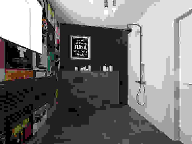 Ванная комната в эклектичном стиле от OHlala Wnętrza Эклектичный