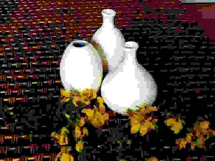 Set Floreros Botella de ManoLatina Moderno