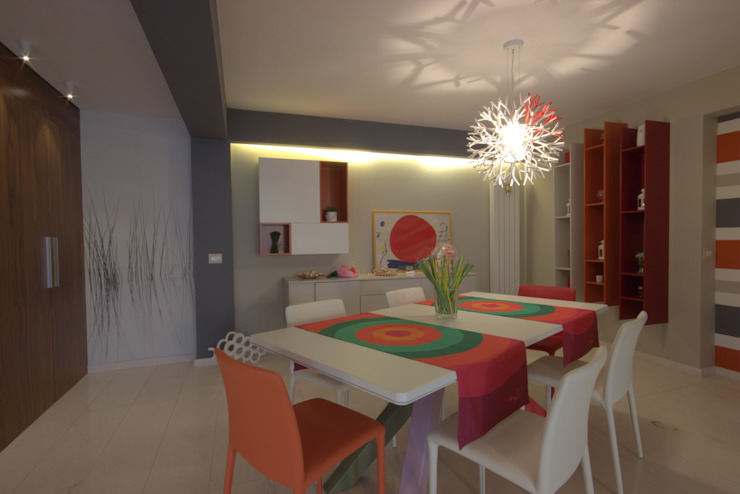 Studio Ferlenda Modern dining room