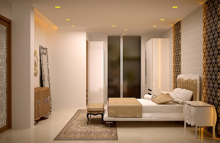 Bedroom Designs Royal Rising Interiors Modern style bedroom