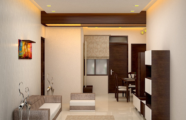 Salas de estar modernas por Royal Rising Interiors Moderno