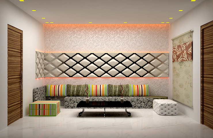 Living Area Designs Modern living room by Royal Rising Interiors Modern