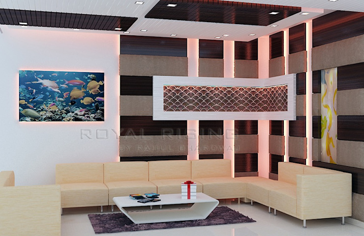 Living Area Designs Modern living room by Royal Rising Interiors Modern