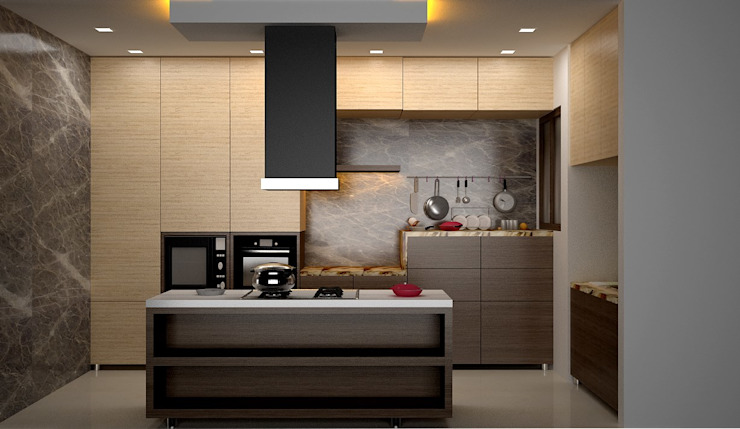 Interior Designs Modern kitchen by Royal Rising Interiors Modern