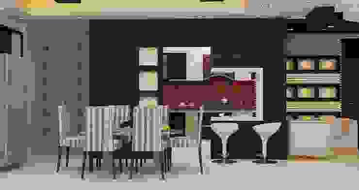Interior Designs Modern dining room by Royal Rising Interiors Modern