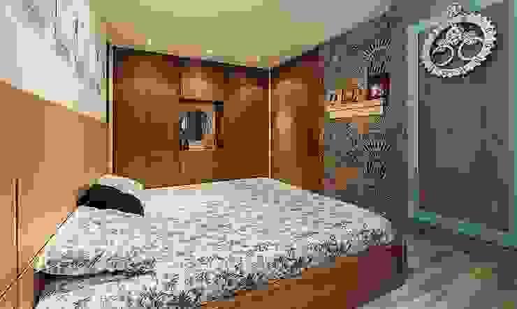 Habitacion principal: Dormitorios de estilo  por Cristina Cortés Diseño y Decoración