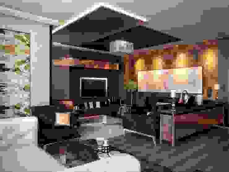 Kalafatoğlu Konut Modern Oturma Odası VERO CONCEPT MİMARLIK Modern