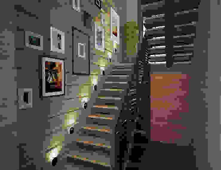 Corridor, hallway by Студия дизайна Виктории Силаевой,
