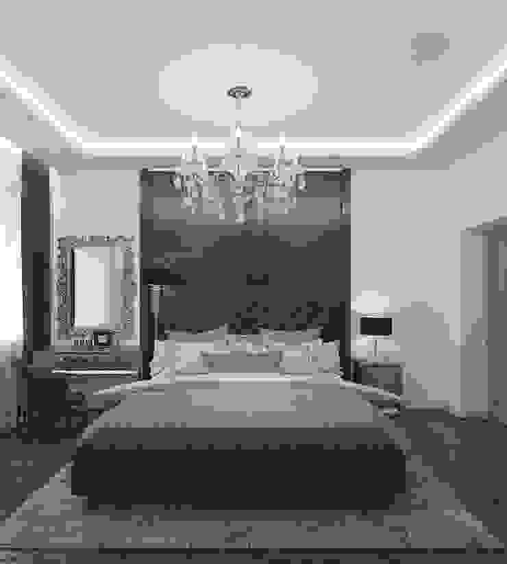 Студия дизайна Виктории Силаевой Chambre classique Blanc