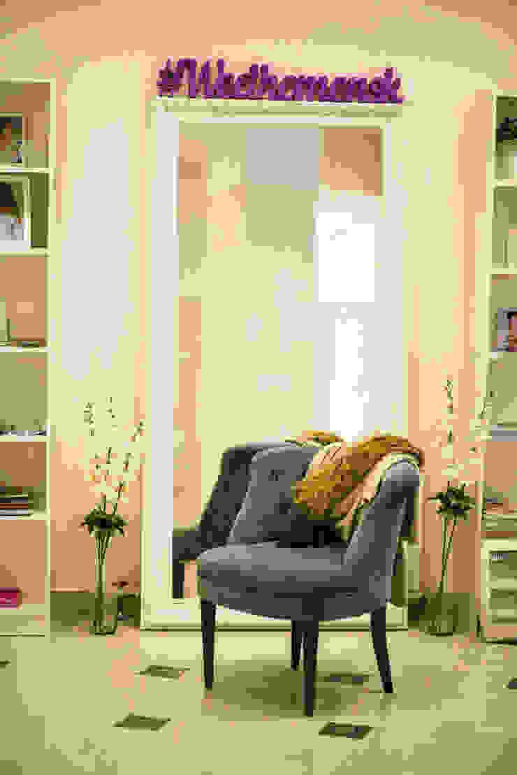 Студия дизайна Виктории Силаевой Locaux commerciaux & Magasin minimalistes Blanc