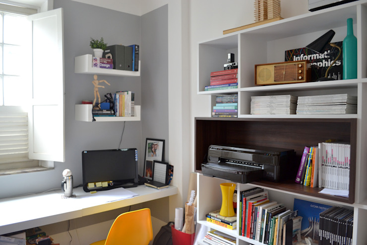 Modern Çalışma Odası C|M Arquitetura e Design Modern
