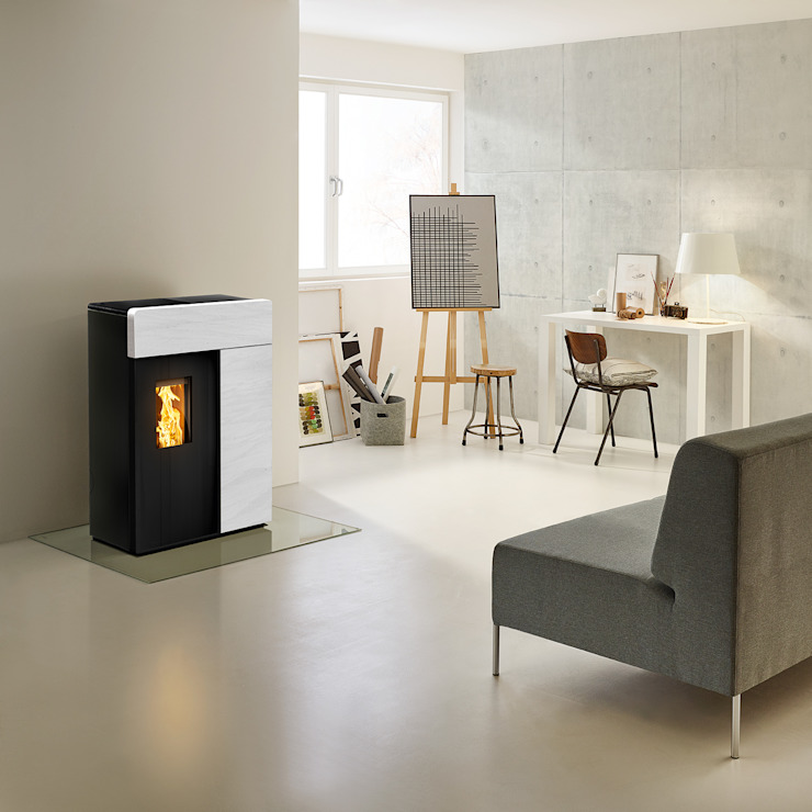 RIKA Innovative Ofentechnik GmbH Living roomFireplaces & accessories Stone White
