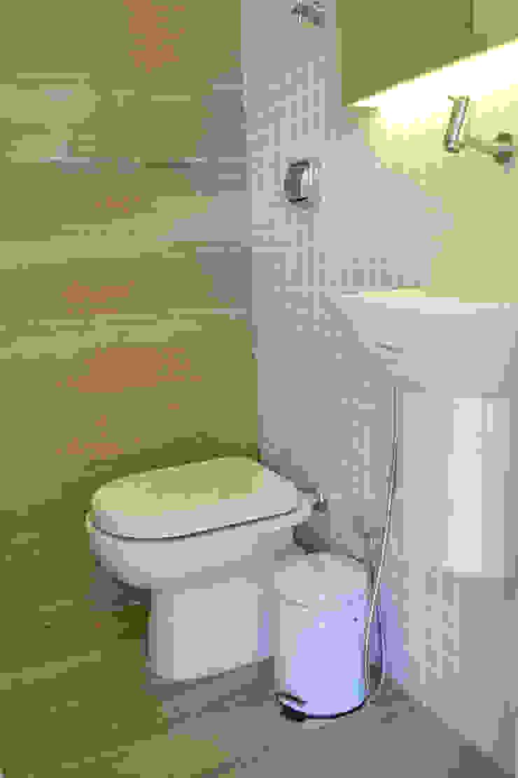 Cobertura RSB Banheiros minimalistas por C|M Arquitetura e Design Minimalista