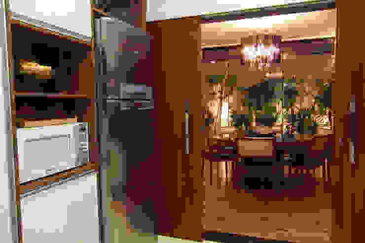 Cozinha e Sala Jantar Salas de jantar modernas por Arabesco Arquitetura Moderno