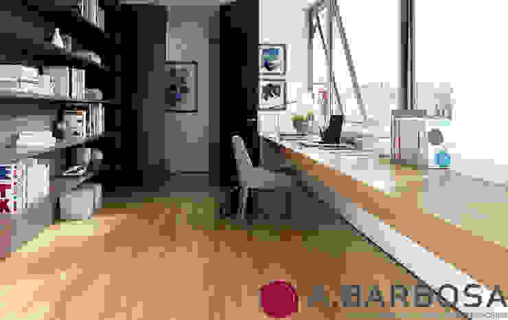 van A.Barbosa Minimalistisch Massief hout Bont