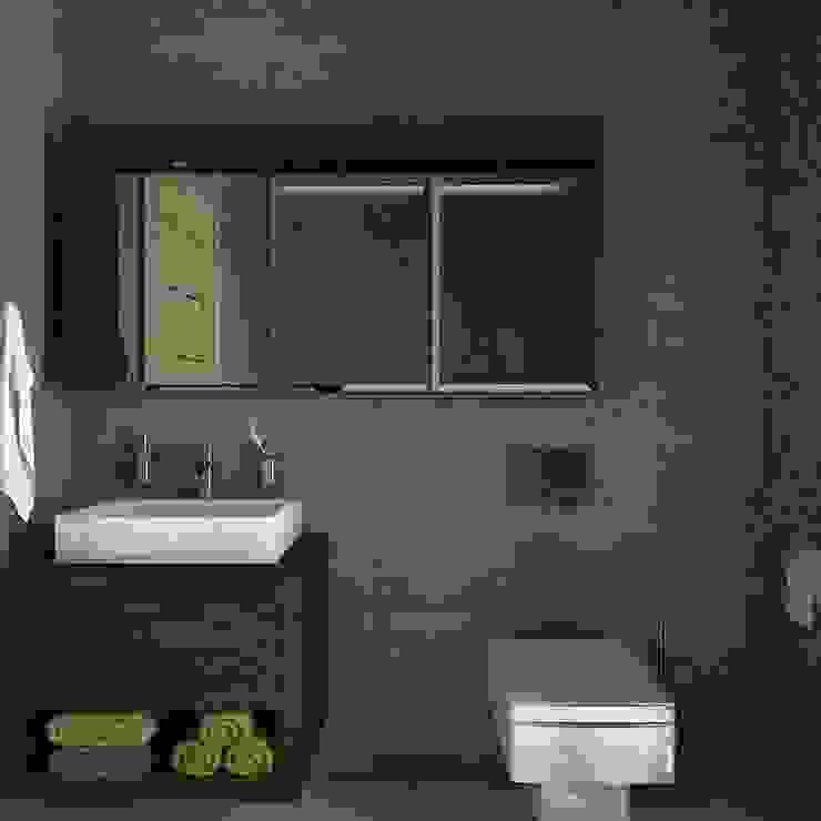 Minimalist style bathroom by Estudio BAM Minimalist