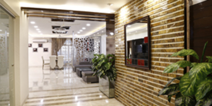 Interior Designs Modern corridor, hallway & stairs by EXOTIC FURNITURE AND INTERIORS Modern