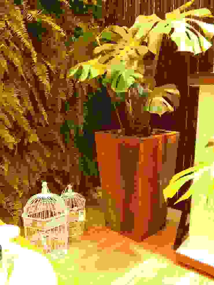 Ambiente Bali- Mostra Mesas Decoradas BiaDecor Jardins asiáticos por Eneida Lima Paisagismo Asiático