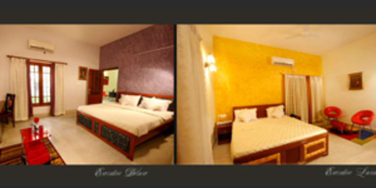 Emensee Suites Modern style bedroom by EXOTIC FURNITURE AND INTERIORS Modern