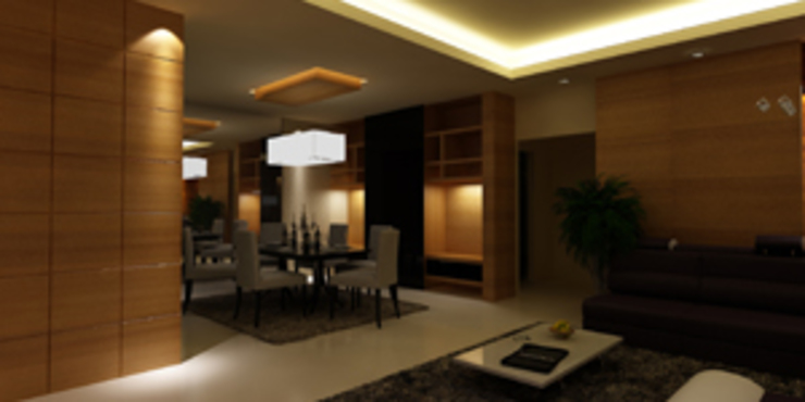 Dining room Designs Modern dining room by EXOTIC FURNITURE AND INTERIORS Modern