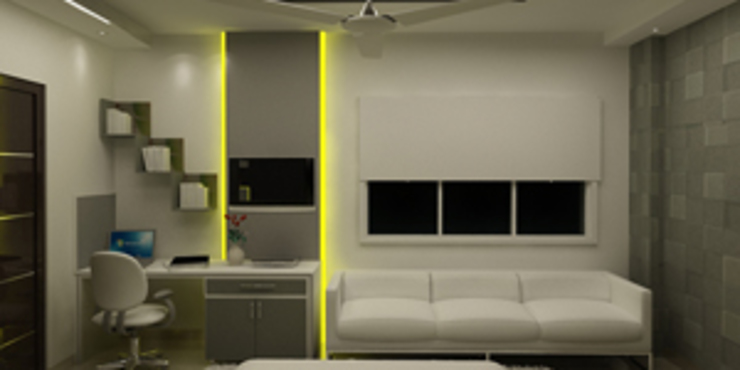 모던스타일 침실 by EXOTIC FURNITURE AND INTERIORS 모던